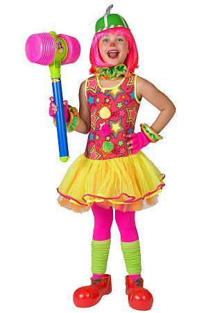 Costume de clown fille - Articles de fête et Carnaval