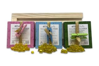 Estuche De Madera Selección Perlas De AOVE - Estuche de madera compuesto por 3 tarros de perlas de 50 grs.