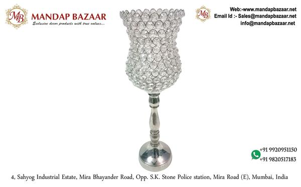 Ornamental Accessories - Acrylic crystal centre piece