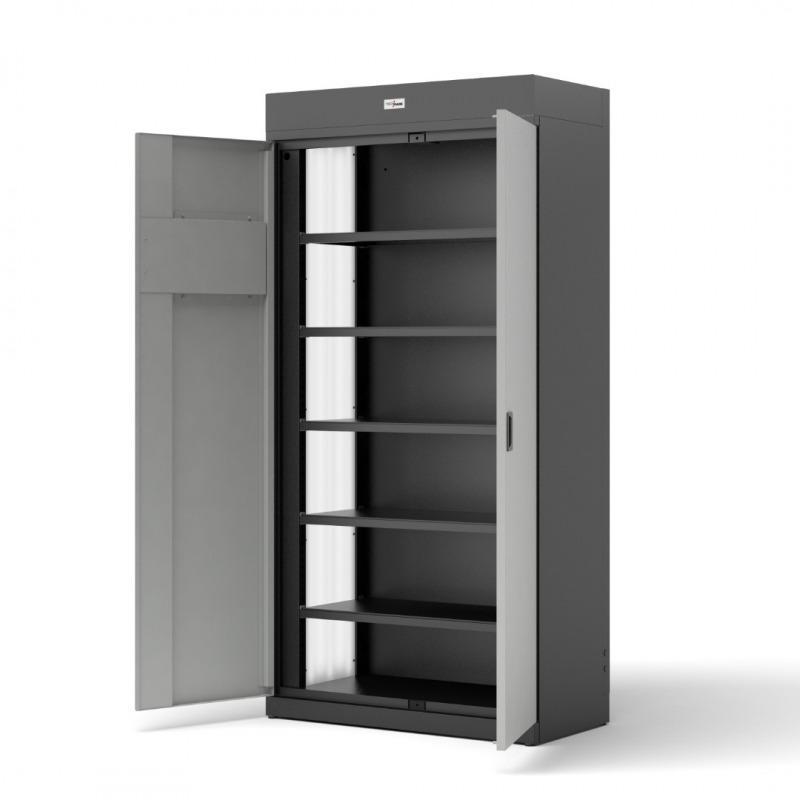 Szafy TECHCODE aktowo-magazynowe - Zdalnie sterowane szafki RFID z kontrolą dostępu