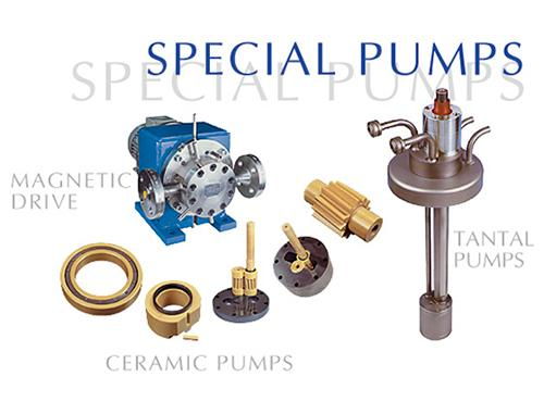 Gear Pumps - Special Designed Gear Pumps