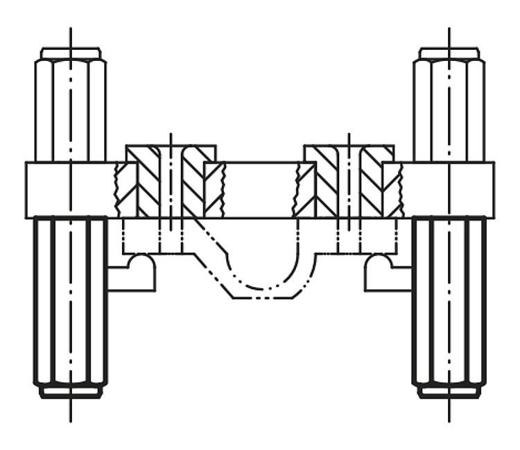 Fixture Feet With External Thread - Rest pads and positioning feet
