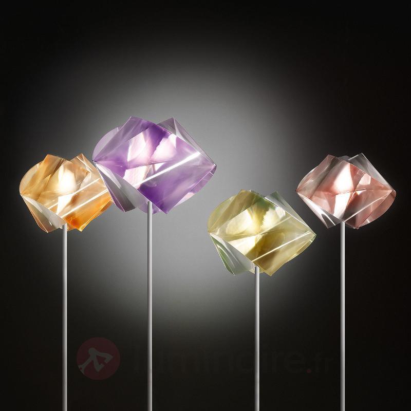 Lampadaire Gemmy Prisma, ambre - Lampadaires design