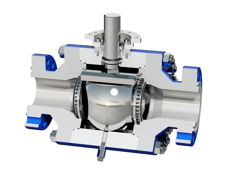 High Performance Ball Valve - Metal Seated Ball Valve - Customized Design for Extreme Conditions