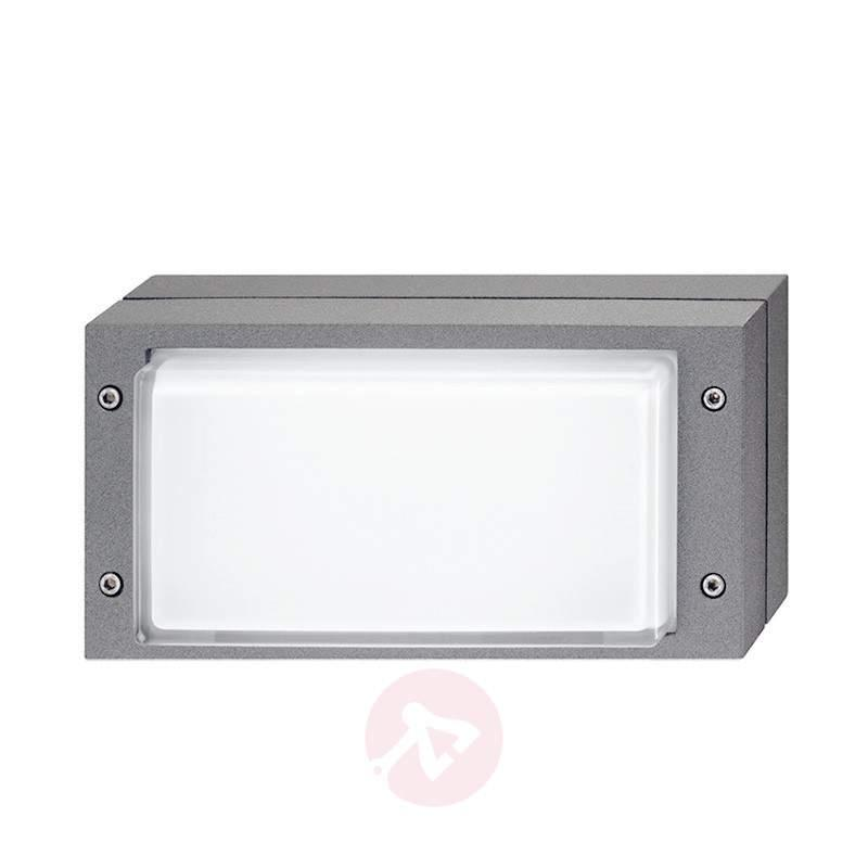 Grey Bliz outdoor wall light with LEDs - Outdoor Wall Lights