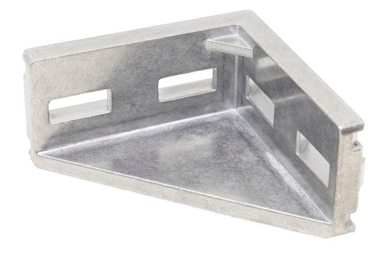 Winkel 10 45x90 Al, blank -