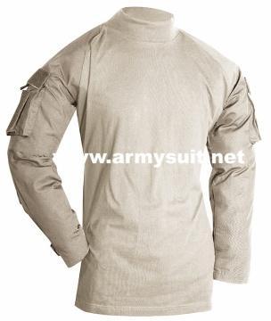 tactical combat shirt khaki - PH-CS10426K