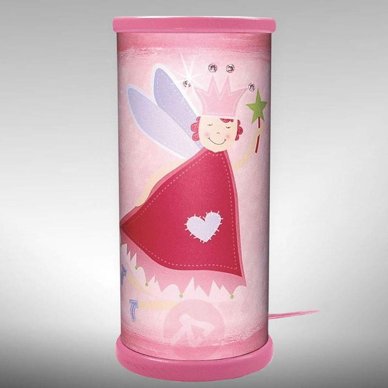 Magical magenta Fairy LED table lamp - Table Lamps