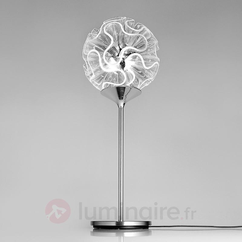 Coral - Lamoe de table design avec liseuse LED - Lampes à poser LED