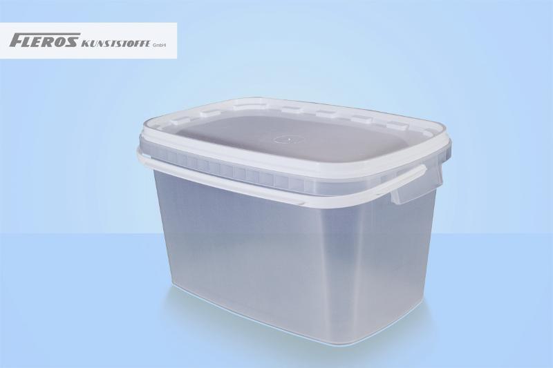 Rectangular buckets - FK-E 6.000 bucket, rectangular, PP