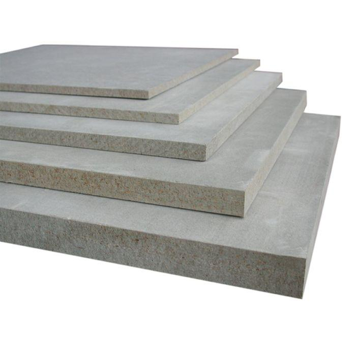 Cement-bonded particleboard
