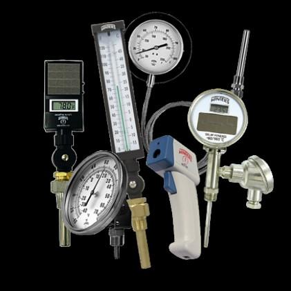 Thermometers - Instruments, Connections & Compensators