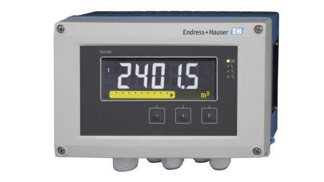 composants systeme enregistreur datamanager - afficheur terrain couleur RIA46
