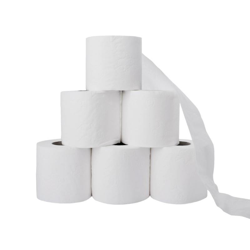 Toilettenpapier 2-lagig naturweiss, 250 Blatt, 64... - Toilettenpapier