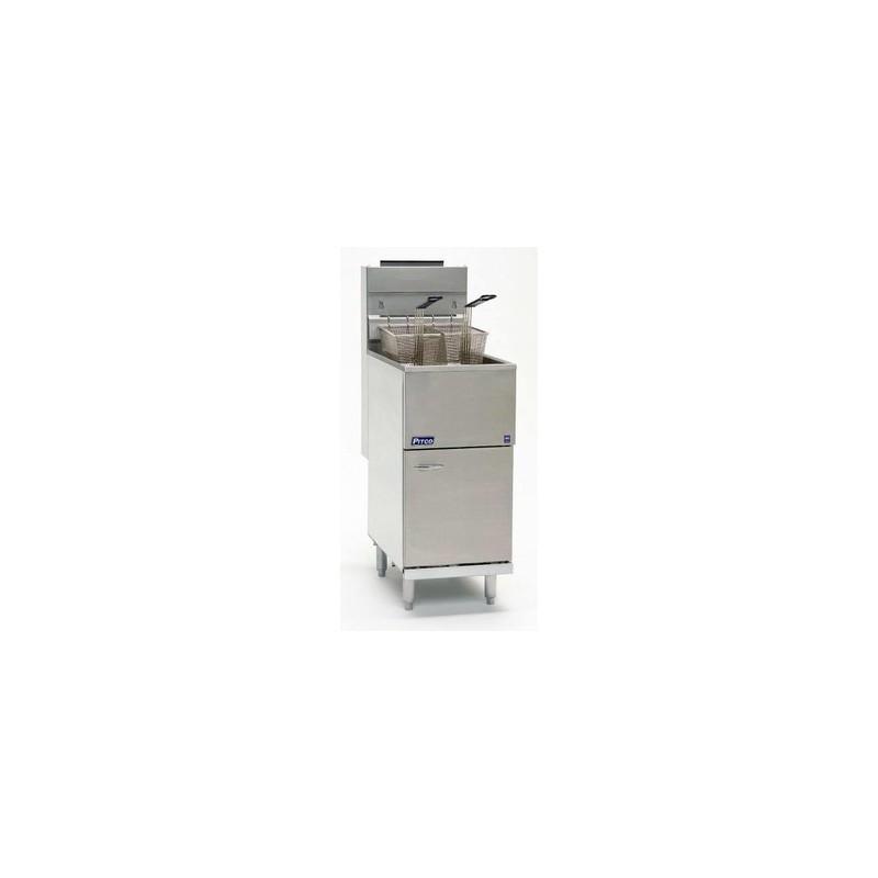 FRITEUSE HAUT RENDEMENT GAZ, 1 x 20 L, PRODUCTION 45KG/H - Référence RPITCO35C+