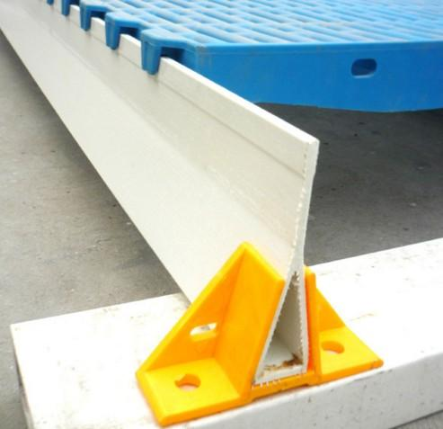 100mm triangula fiberglass/FRP support beam/ profiles beams  - fiberglass/FRP support beam/ profiles beams for pig farrowing crate/poutry cage
