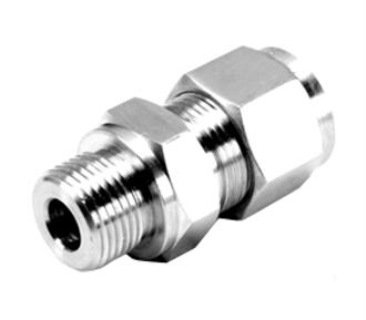 SS DOUBLE COMPRESSION FITTINGS - SS 316