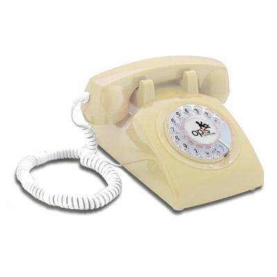 Opis 60s cable - landline phone compatible with modern technology