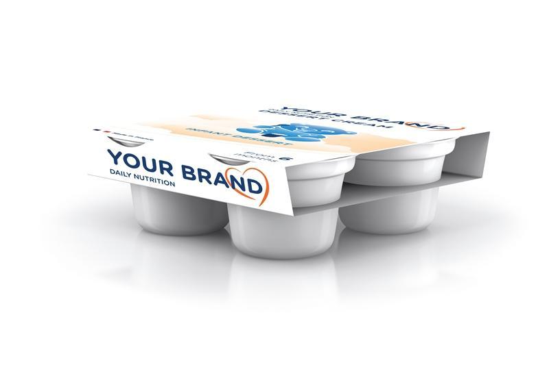 Produits de diversification - Crème dessert infantile (à partir de 6 mois)