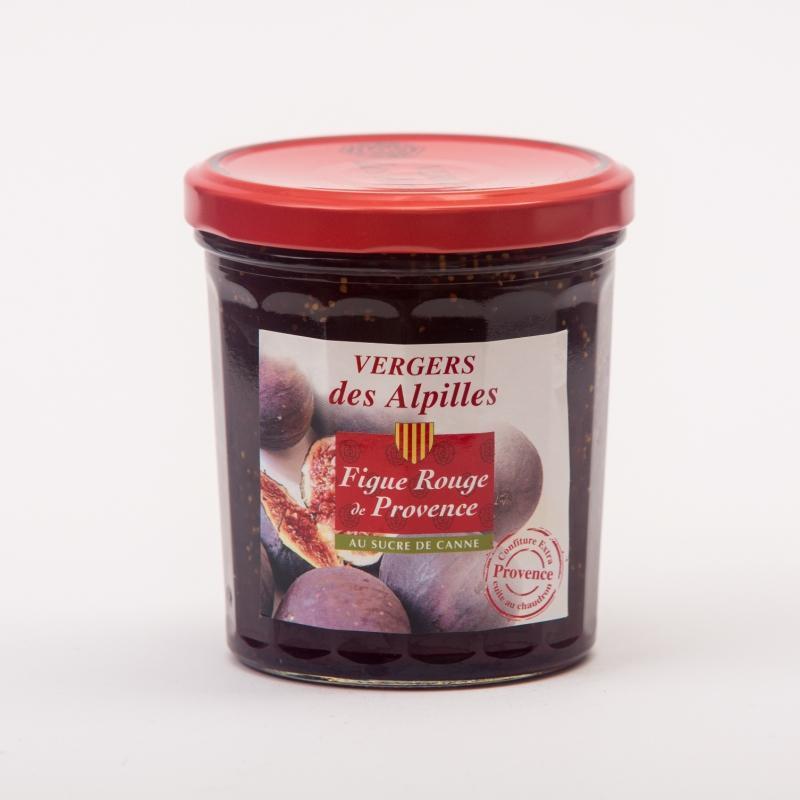 Vergers des Alpilles - Figue Rouge de Provence - Confitures au sucre de canne