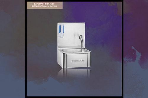 Lave Mains Avec Commande Fémorale En Inox - Nos Produits