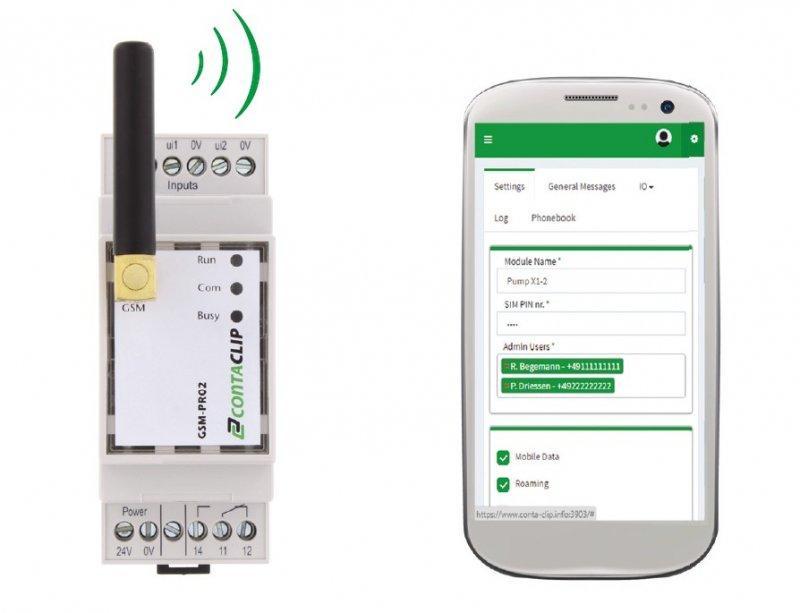 Módulo de comunicación GSM-PRO 2