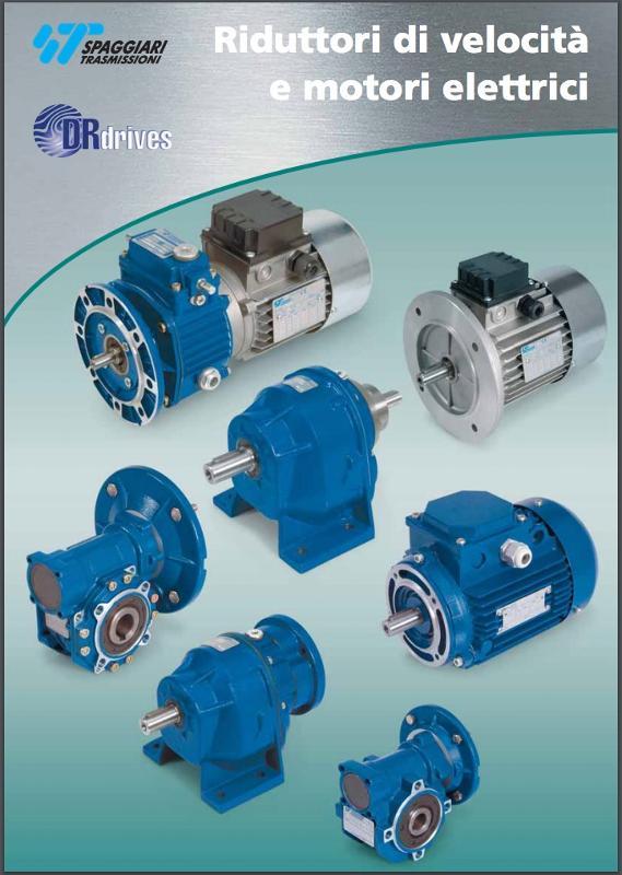 Riduttori coassiali e variatori - Riduttori di velocità e motori elettrici