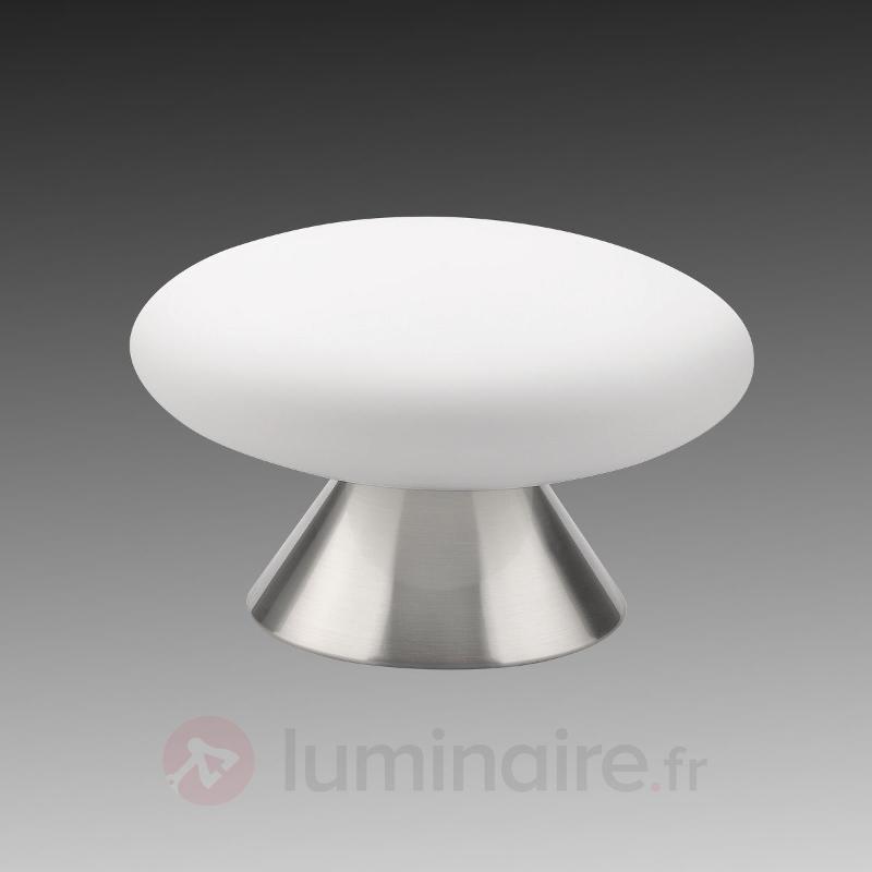 Lampe à poser en acier Jade forme de champignon - Toutes les lampes à poser