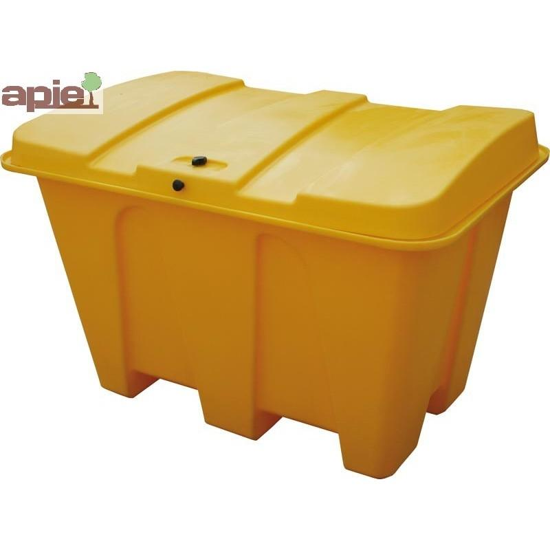 Coffre à sel / sable 500 L ou coffre de rangement - Référence : CS500J/ECO