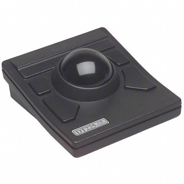 TRACKBALL DESKTOP USB-BLACK - APEM Inc. DT2257X20V00BLK