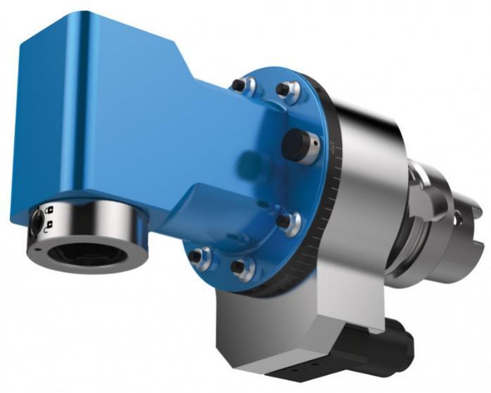 Single sided angle head MONO WSX - CNC unit / angle head for machining of metal
