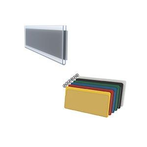 Shelf labeling; reusable - Precise shelf labelling self-adhesive or magnetic - scanner-compatible