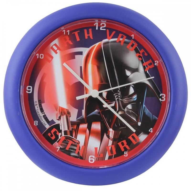 6x Horloges murale Star Wars 25.5x25.5x3.5 - Mobilier