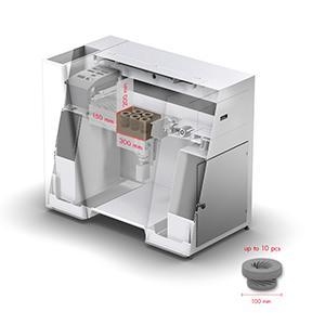VX200 - Bauraum LxBxH 300 x 200 x 150 mm | Druckauflösung bis zu 300 dpi