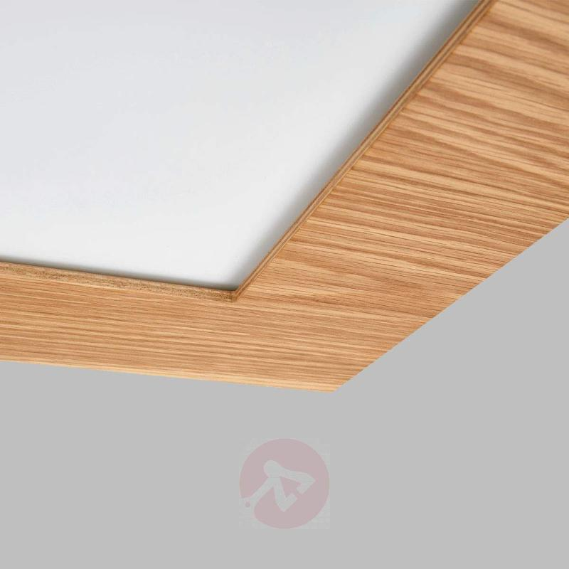 Natural LED panel Deno with wood - Ceiling Lights