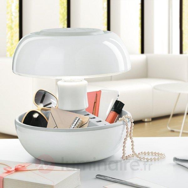 Lampe à poser ultramoderne Joyo, avec prise USB - Lampes à poser designs