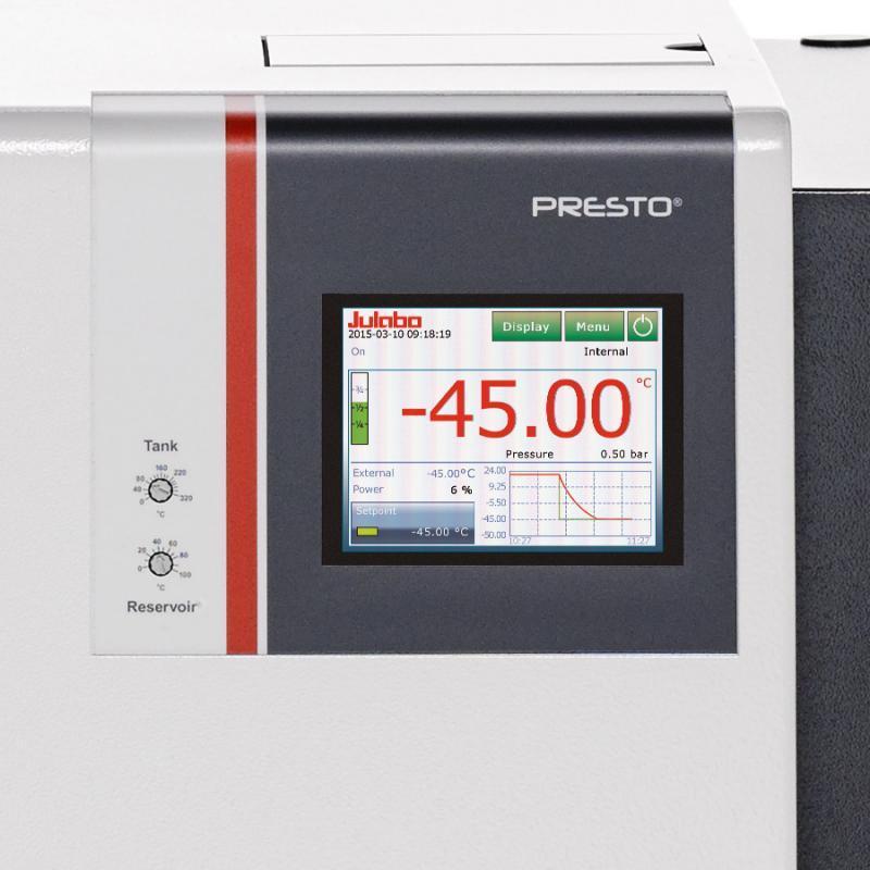 PRESTO A45t -  НОВИНКА: Системы термостатирования PRESTO - НОВИНКА: Системы термостатирования PRESTO