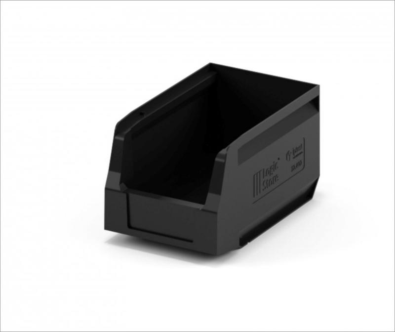 Storage Crate 300х225х150 black - Art.: 12.402