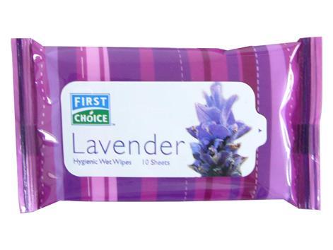 Hygienic Wet Wipes 10S-Lavender