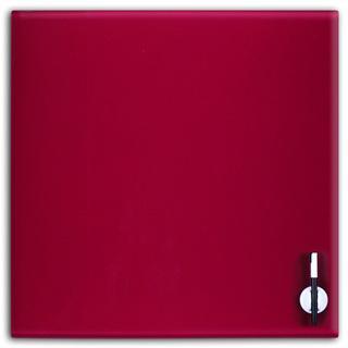 Glas Magnettafel 45x45cm Farbe: Pflaume - null
