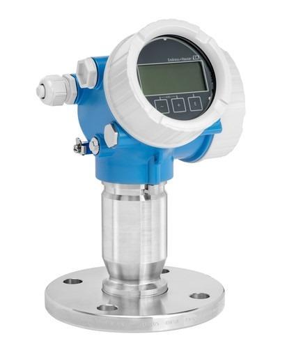Radarmesstechnik Micropilot FMR62 - Für Füllstandsmessung in aggressiven Flüssigkeiten mit Hygieneanforderungen