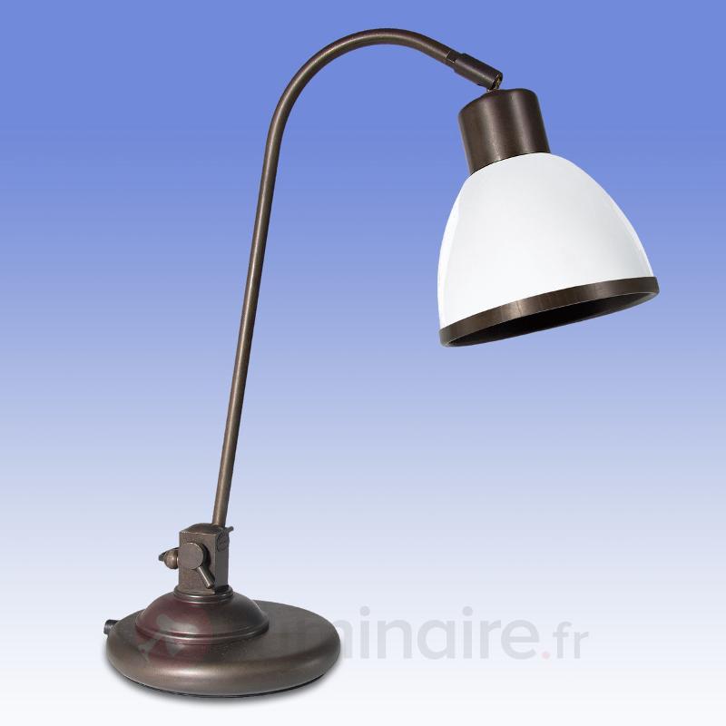 Lampe à poser réglable Lorenia - Lampes à poser rustiques