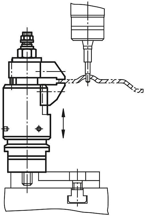 Système de bridage réglable à serrage et blocage séparés - Crampons, mors de serrage, vis et écrous de serrage