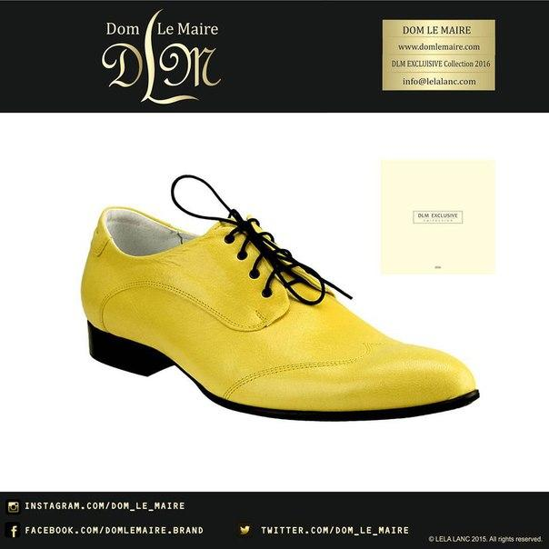 Exclusive shoes for men - genuine leather