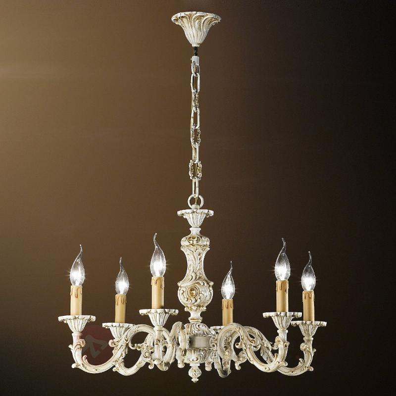 Lustre ROSARIO à 6 lampes style antique - Lustres classiques,antiques
