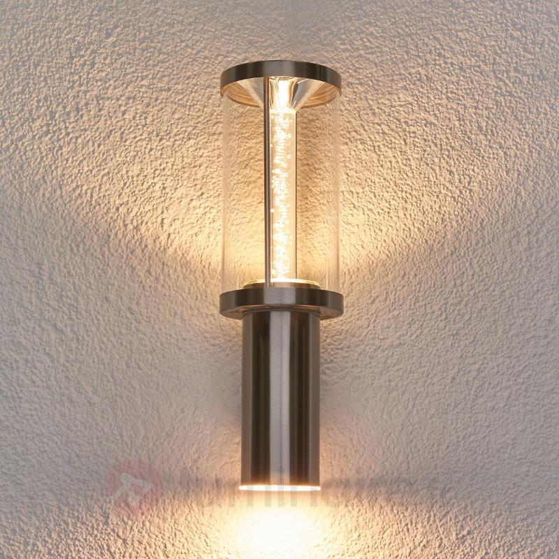 Applique extérieure LED chic Trono tube - Appliques d'extérieur inox