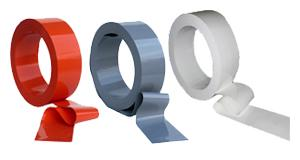 PVC opaque teinté dans la masse - Portes PVC souple