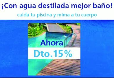 Agua destilada piscinas - calidad inmejorable