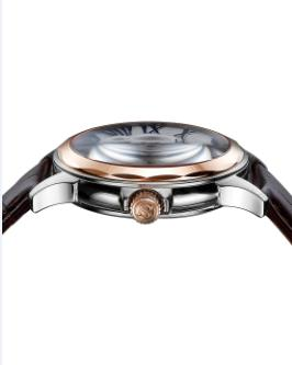 mechanical watch GCS13004 - customized Sapphire IP rose gold japan movement mechanical watch