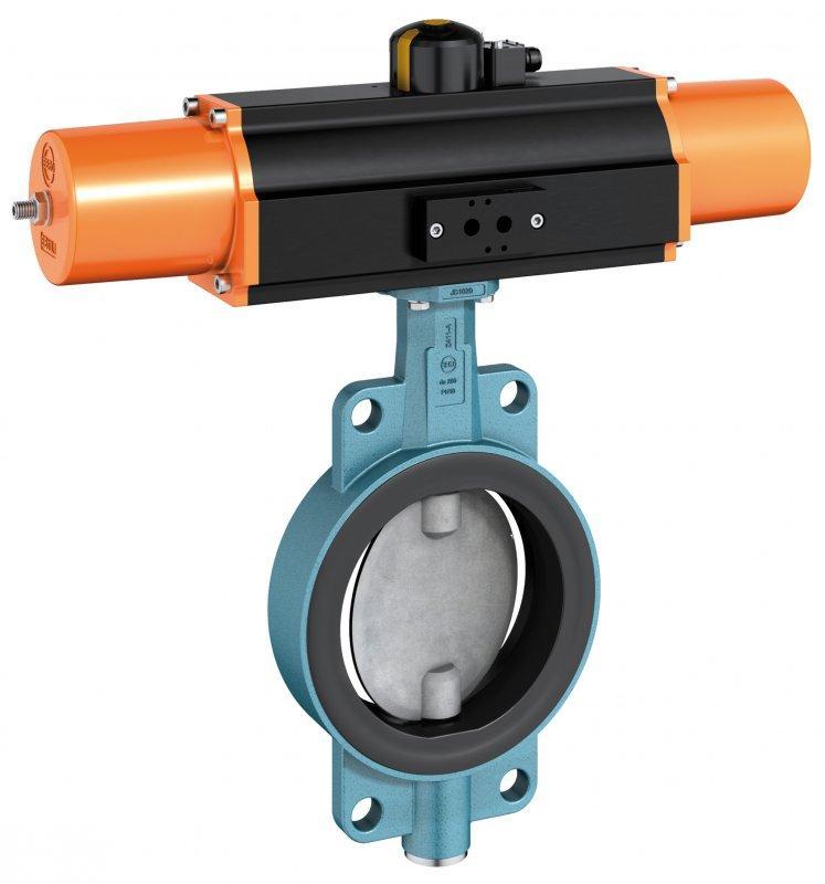 Válvula de cierre y control tipo Z 411-A - Esta serie se ha adaptado para los diámetros internos reducidos de tubos pe/pp.